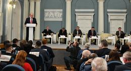 Состоялся круглый стол по поправкам в Конституцию РФ